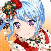 松原花音-穿上圣诞服装