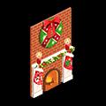 圣诞节 圣诞壁炉.png