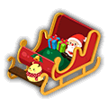 圣诞节 雪橇睡床.png