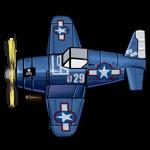 "F4U(VF-17""海盗""中队) 模型.png"