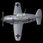 Me-155A舰载战斗机 模型.png