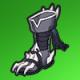 兽骨靴(绿)