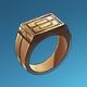 铜戒指(蓝)