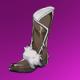 狼皮靴(紫)