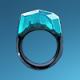 矿石戒指(蓝)