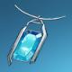 宝石项链(蓝)