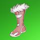 兔绒靴(绿)