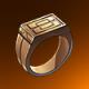 铜戒指(橙)
