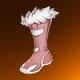 兔绒靴(橙)