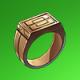 铜戒指(绿)