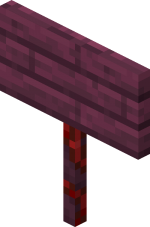 Crimson Standing Sign JE1 BE1.png