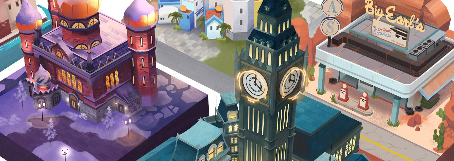 Overwatch: Cities and Countries专辑网易云音乐合作发布