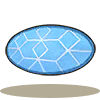 蓝白软毛圆毯.png