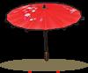 立式茜色纸伞.png