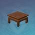 松木方形茶桌