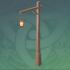 野外松木路灯