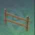 简易木制围栏