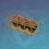 竹框酒坛-「琼浆待月往」