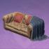 柔软的会客厅沙发