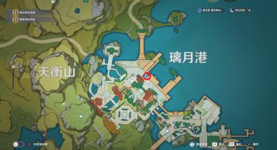 璃月港平静的一天寻找02地图.png